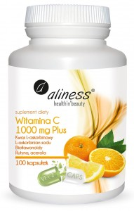 Witamina C 1000 mg Plus x 100 kaps VEGE Aliness